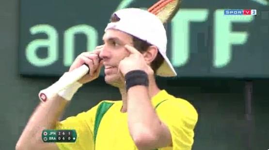 テニス、ブラジル人選手人種差別行為