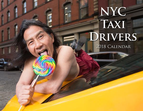 【出典:NYCtaxicalender】表紙