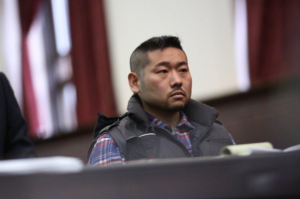 【出典:New York Daily news】11月13日の裁判に出頭したコージ・コスギ容疑者