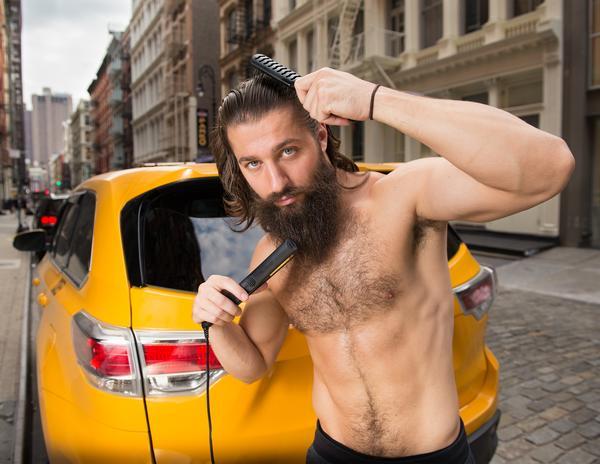 【出典:NYCtaxiCalender】唯一のイケメン?