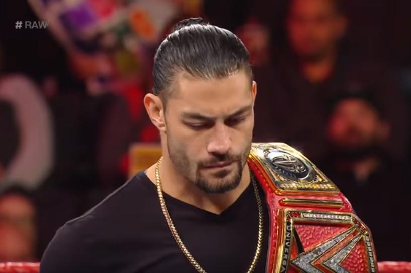 【出典:WWE/YouTube】白血病が再発していたローマン