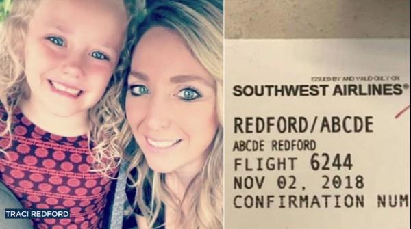 【出典:ABC7】サウスウエスト航空から嫌な思いをさせられた親子