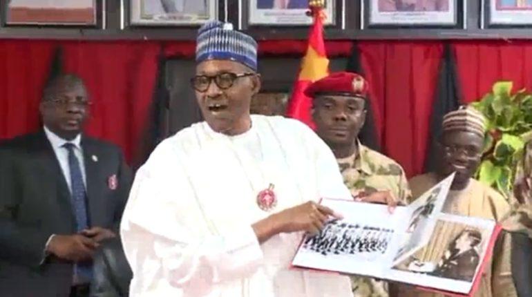 ナイジェリアのブハリ大統領
